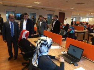 Beşir Atalay 'Aktrol' sorusu eşliğinde o ofisi açtı