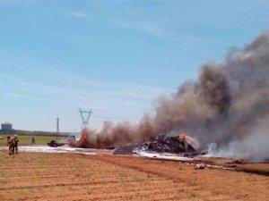 Türkiye 10 tane teslim alacaktı: İspanya'da feci uçak kazası