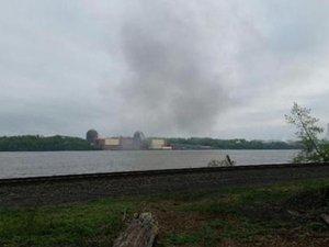 New York'ta nükleer santralin trafosunda patlama