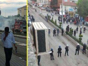 HDP seçim bürosuna saldırı