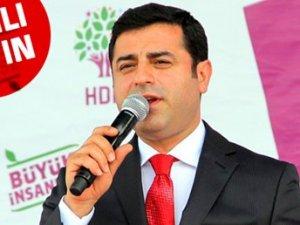 """Selahattin Demirtaş: """"Benim yüzümden barajı aşamazsak bırakırım"""""""