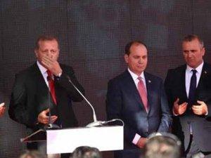 Arnavutluk'ta konuşan Erdoğan'ın paralel mesajı