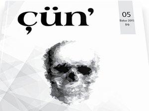 Kültür sanat dergisi Çün' 5. sayısıyla raflarda