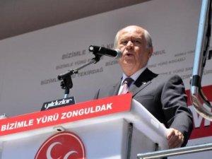 """MHP Genel Başkanı Devlet Bahçeli: """"Haram yerken 'fıtrat' demediler"""""""