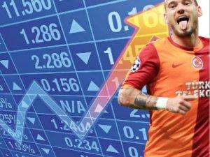 Galatasaray'ın hisseleri iki günde yüzde 35 yükseldi