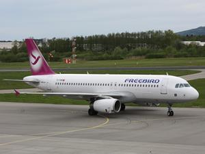 Freebird Havayolları, filosuna bir adet Airbus A320 aldı