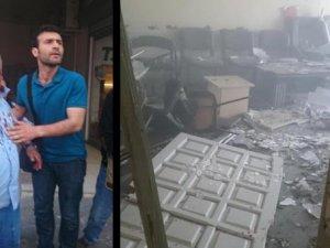 HDP binalarında patlama!