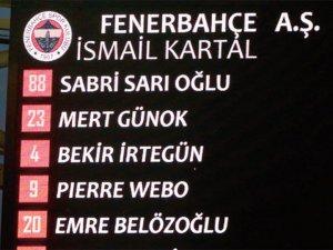 Sabri Sarıoğlu Fenerbahçe'ye transfer oldu!