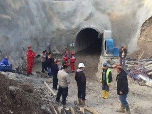 HES inşaatında göçük: Bir işçi enkaz altında