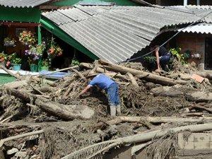 Kolombiya'da heyelan felaketi: 61 ölü