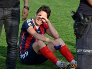 Kömürspor elendi, futbolcular ağladı!
