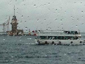 İstanbul'a sağanak yağış geliyor