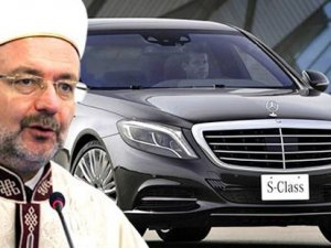 """Cumhurbaşkanı Erdoğan'dan Mehmet Görmez'e yeni """"Mercedes""""!"""