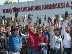 TOFAŞ'ta üretim başladı Renault'ta eylem devam ediyor