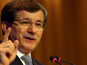 """Başbakan Davutoğlu'ndan tarihi """"Erdoğan"""" gafı"""