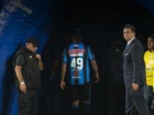 Ronaldinho'dan olay hareket