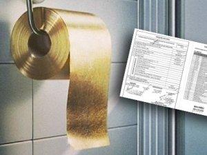 Vali'nin tuvaletleri altın değil, krom kaplama