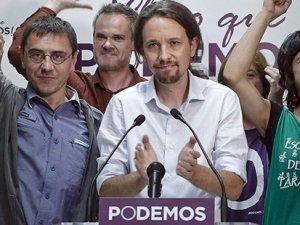 İspanya'daki seçimlere Podemos damgasını vurdu