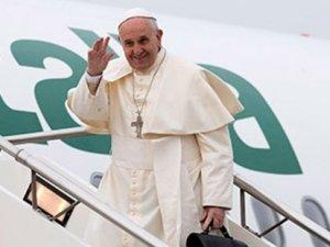Erdoğan'a yalanlama: Papa'nın özel uçağı yok