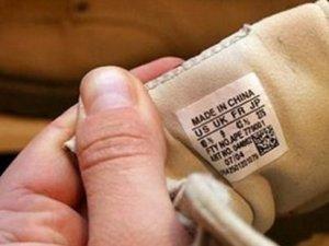 Avrupa'dan ithal edilen konfeksiyon ürünleri Çin malı çıktı