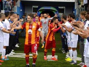 Galatasaray'dan Çaykur Rizespor'a teşekkür mesajı