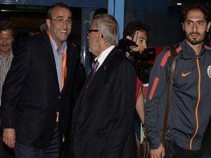 Galatasaray'a taraftar protestosu!