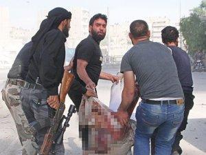 Halep'te varil bombalı kıyım