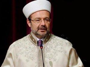 Diyanet İşleri Başkanı Mehmet Görmez'den Kandil mesajı