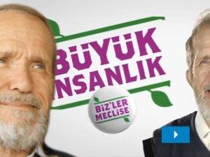 Hem AKP, hem HDP reklamında oynadı!