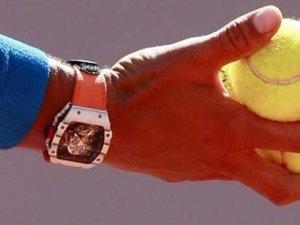Nadal, 2 milyonluk saatiyle maç yaptı