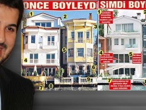 Rıza Sarraf Boğaz'da kaçak kat çıktı