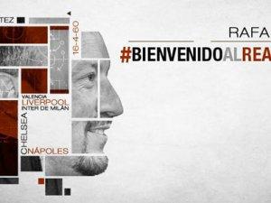 Real Madrid, Benitez'i açıkladı!