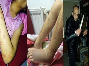 İşkenceci baba serbest bırakıldı! Kızı ve annesi tehlikede!