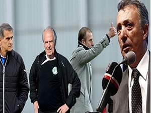 Beşiktaş'ta teknik direktör adayları açıklandı