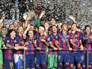 Şampiyonlar Ligi şampiyonu Barcelona oldu