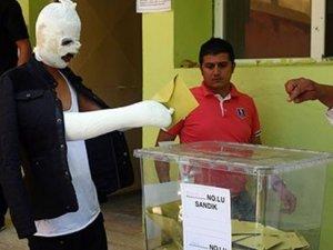 Diyarbakır'da böyle oy kullandılar