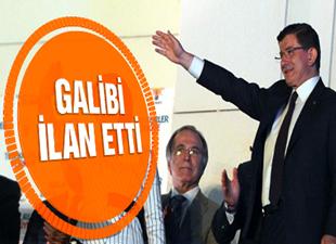 Başbakan Ahmet Davutoğlu seçimin tek galibini AK Parti'yi ilan etti