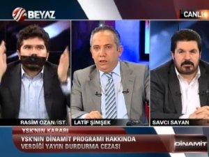 Rasim Ozan Kütahyalı telefonu suratına kapattı! -Video Haber-