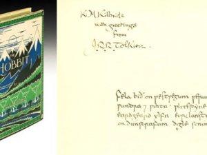 Hobbit'in ilk baskısına 570 bin TL