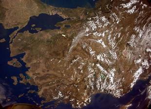 Uzaydan Türkiye'ye mesaj gönderdi: Merhaba Türkiye