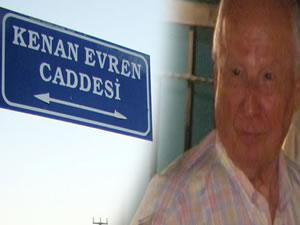 Kenan Evren Caddesi'nin adını Erdal Eren oldu