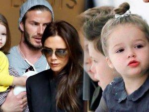 Minik Beckham'ın kıyafetleri satışta