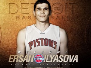 "Ersan İlyasova ""Pistons""lu oldu"