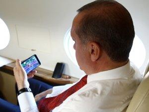 Erdoğan gözünü kırpmadan maçı izledi