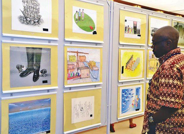 Karikatür yarışmasında 237 eser yarışacak