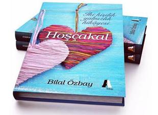 """Yazar Bilal Özbay'ın """"Hoşçakal"""" kitabı yoğun ilgi görüyor"""