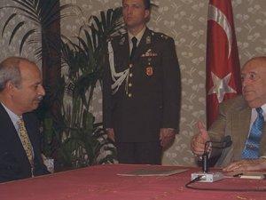 Demirel ve HADEP genel başkanı arasında 'Kürt sorunu' tartışması