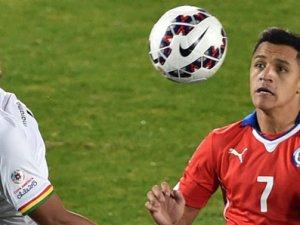Şili gol oldu yağdı!