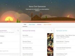 Google'dan Ramazan özel sayfası