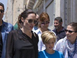 Mardin sokaklarında Angelina Jolie!